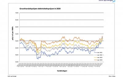 De prijzen energie in 2020: het venijn zit in de staart